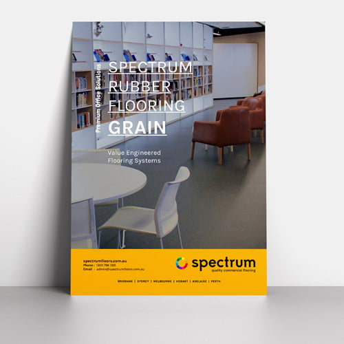 Download Spectrum Grain Rubber Flooring Brochure